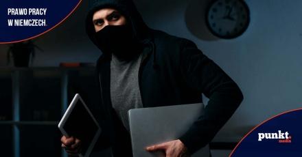 Niemcy: Co grozi za kradzież w miejscu pracy?